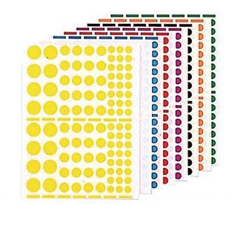 Agipa Stickers 1.040 stuks, cirkels