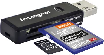 Integral SD / Micro SD USB 3.1 geheugenkaartlezer