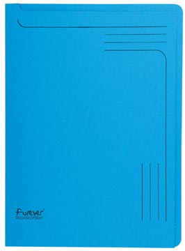Exacompta Forever L-map, ft A4, blauw