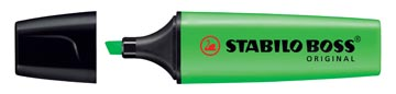 STABILO BOSS ORIGINAL markeerstift, groen