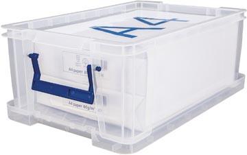 Bankers Box opbergdoos ProStore 10 liter, transparant