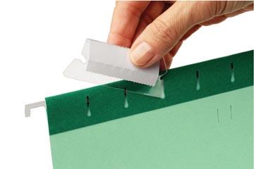 Esselte ruiters voor Pendaflex hangmappen, doos van 25 stuks