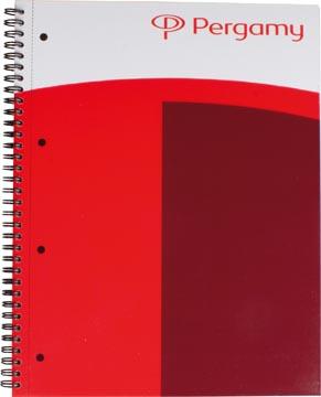 Pergamy business spiraalblok, ft A4+, 160 bladzijden, 80 gram