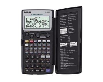 Casio grafische rekenmachine FX5800P