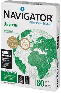 Navigator Universal printpapier ft A4, 80 g, pak van 500 vel