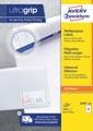 Avery Zweckform 3658-2, Universele etiketten, Ultragrip, wit, 200 vel, 24 per vel, 64,6 x 33,8 mm
